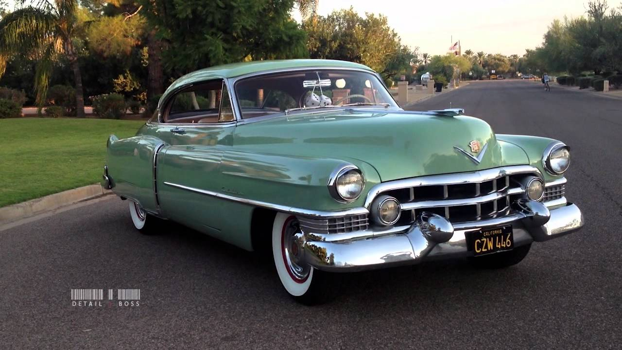 The Detail Boss 1951 Cadillac One Step Back In Time