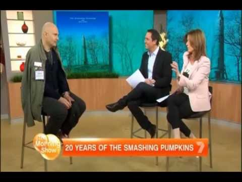 Billy Corgan 2012 Interview on Good Morning Australia on Oceania and the Music Industry