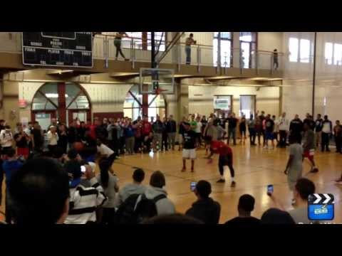 Kyrie Irving highlights Montclair State University. College basketball big finish
