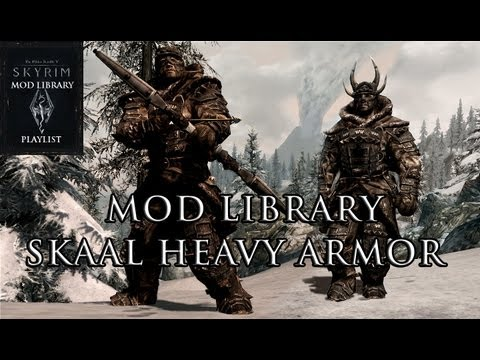 Skaal Heavy Armor - Skyrim Mod Library