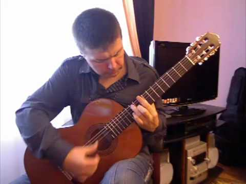 C. Romero. Alegrias (p.2) from Suite Andaluza. Spanish guitar V. Sharii /Шарий