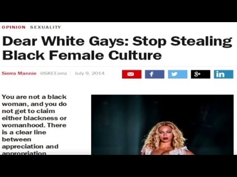 Dear White Gay Men: Stop Stealing Black Female Culture video