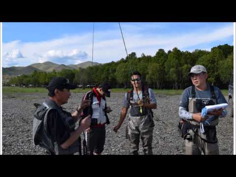 Mongolian Fly Fishing Association's Summer Activity 2014