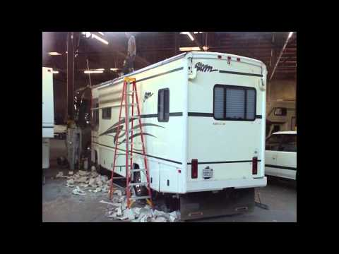 Motor Home RV Roof Replacement How-to at Leale's RV Service RV Repair in Gilroy, CA