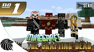 MINECRAFT THE CRAFTING DEAD - MATANDO GERAL - SÉRIE #1
