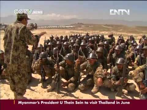New recruits starts Afghan army training CCTV News - CNTV English...