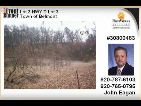 Town of Belmont WI Real Estate for Sale
