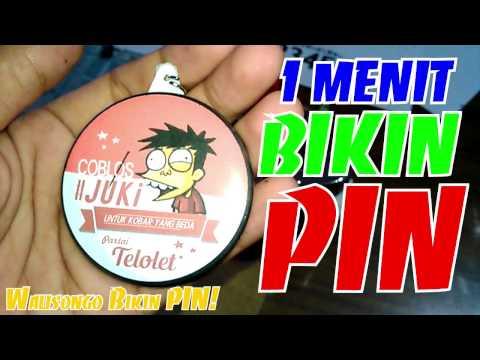 [Rekomendasi] 1 Menit Tutorial Bikin PIN