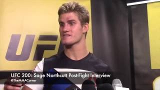 UFC 200: Sage Northcutt Post-Fight Interview