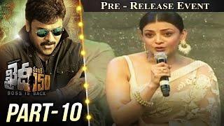 Khaidi No 150 Pre Release Event Part 10 || Megastar Chiranjeevi || Kajal Aggarwal || V V Vinayak
