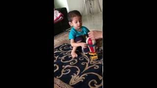 Surprise my son with hot air balloon toy - his favourite