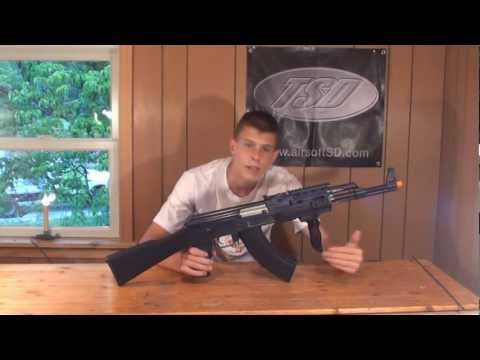 JG Tactical AK47 Airsoft AEG Review