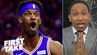 'I'm praying' the 76ers win Game 7, but I don't trust them vs. the Raptors - Stephen A. | First Take