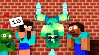 Monster School Bottle Flip Challenge Minecraft Animation