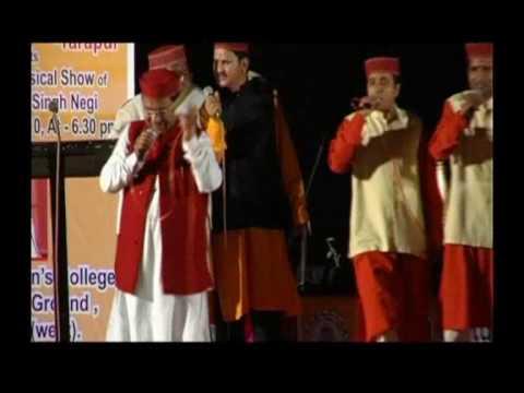 Narendra Singh Negi  live concert