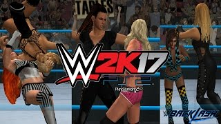 WWE 2K17 PS2: 6-Women Tag Team Match - Backlash 2017