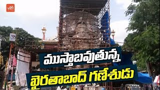 Khairatabad Ganesh 2018 Idol Construction to be Completed by September 1st Week