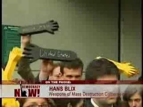 Former UN Inspector Hans Blix-5/5