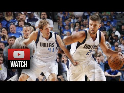 Dirk Nowitzki & Chandler Parsons Highlights vs Jazz (2014.10.30) - 42 Pts Total!