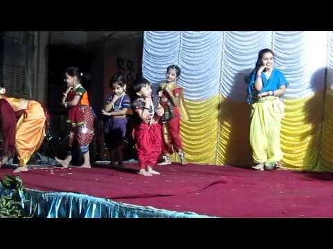Tashvi - Aggobai-Dhaggobai Dance