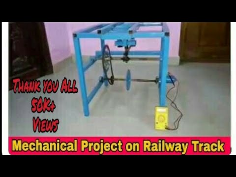 MINI PROJECT IDEA FOR MECHANICAL ENGINEERING ON RAILWAY TRACK