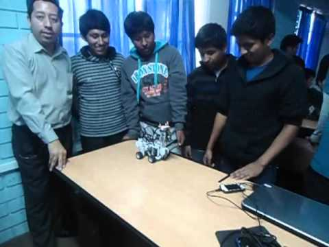Llama Robot – Lego Mindstorm NXT 2.0