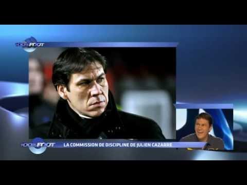 100% Foot - M6 - La commission de discipline - Julien Cazarre - Rudi Garcia.