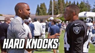 First Look at Antonio Brown's Frostbite, Charles Woodson Mentors Johnathan Abram | NFL Hard Knocks