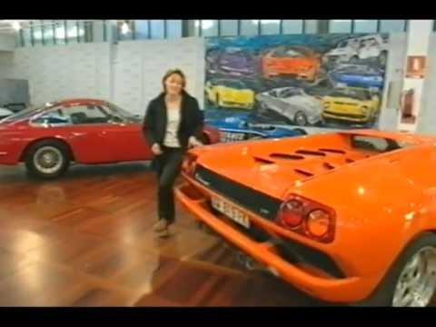 Top Gear - Lamborghini Diablo GT Road Test - Vicki Butler-Henderson