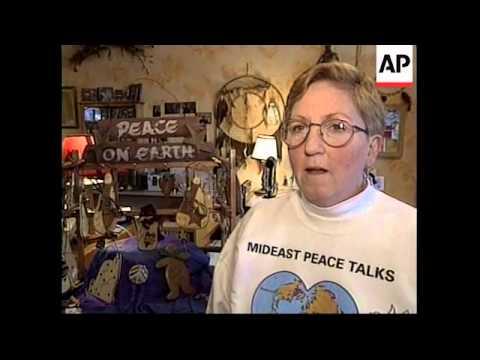 USA: WEST VIRGINIA:  ISRAELI/SYRIAN PEACE TALKS PREVIEW