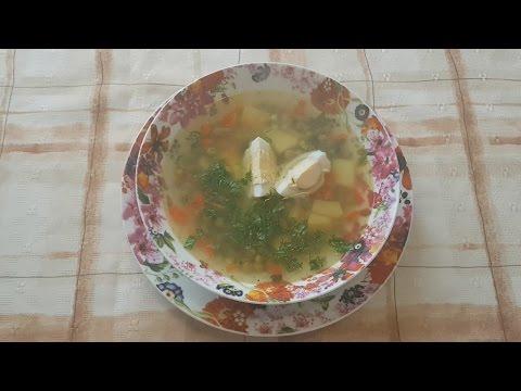 Суп с зеленым горошком по Уральски