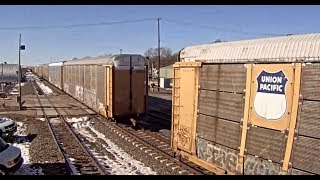 "TRAIN CAR SEPARATION  ""DRAFT GEAR FAILURE""  KEARNEY, NE"