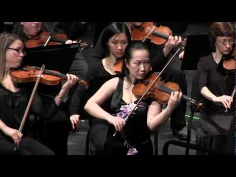 Wen-Lei Gu Plays Elgar Violin Concerto in B Minor Live in Concert