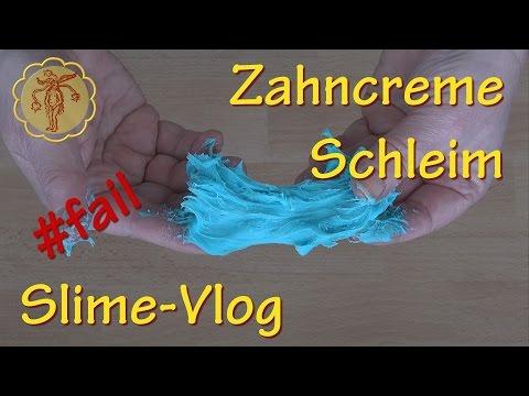 Slime-Vlog: Zahncreme-Schleim #fail