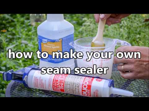 Make Your Own Seam Sealer