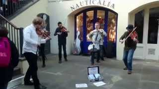 Vivaldi, four seasons, the Summer (Covent Garden) - busking in the streets of London, UK