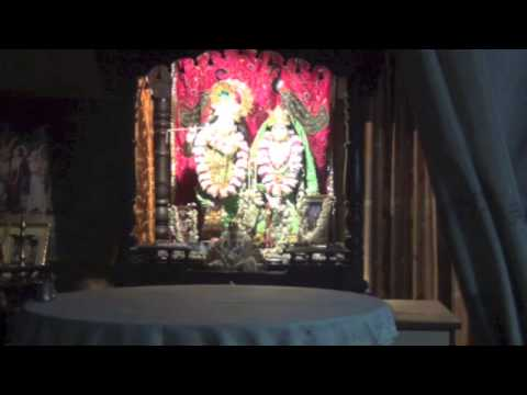 Gaura Arti At Radha Govinda Temple Mangalore video
