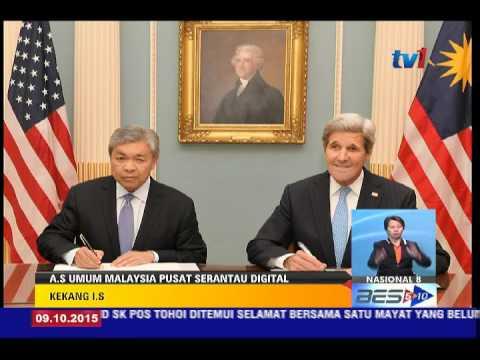 AS UMUM MALAYSIA SEBAGAI PUSAT DIGITAL SERANTAU PERANGI I-S [9 OKT 2015]