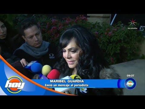 Maribel Guardia arremete contra periodista que acusó a Joan Sebastian de trata | Hoy