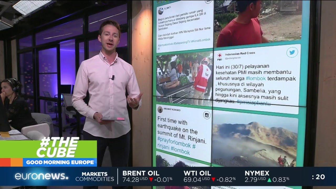#TheCube | Deadly Indonesian Earthquake