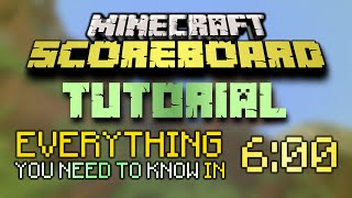 Minecraft Scoreboard Tutorial: Objectives, Players and Selectors (/scoreboard basics)