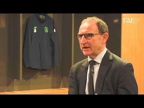 Martin O'Neill on the Moldova & Wales double header