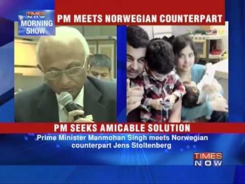 PM raises custody row with Norway