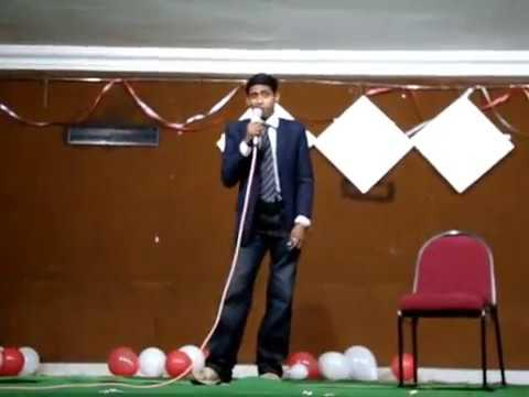 SPA Vijayawada Freshers Party (2009-10) Shyam's Performance..