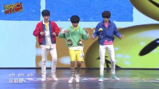 【TF家族练习生】Live Stage 第一期(下)cover Just Right - GOT7