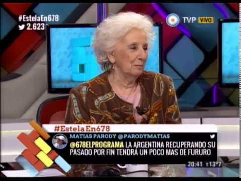 DEBATE CON ESTELA DE CARLOTTO: EL ENCUENTRO MAS ESPERADO ESTELA Y GUIDO - PARTE I - 10-08-14