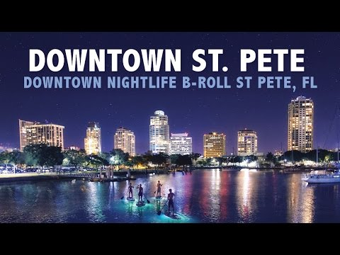 A Little Taste of Downtown St. Petersburg Nightlife