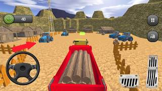 Offroad Cargo Tractor Simulator 3d: Farming Drive 2018 /Android Game-Play By Nitro Games)