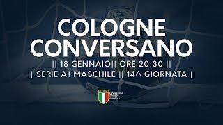 Serie A1M [14^]: Cologne - Conversano 19-31