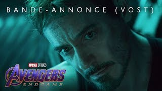 Avengers : Endgame - Bande Annonce 2 VOST